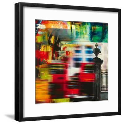 London Jazz II-Georges Generali-Framed Giclee Print