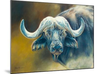 Warrior - African Cape Buffalo-Kim Thompson-Mounted Giclee Print