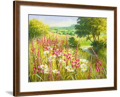 A Meadow In Spring-Mary Dipnall-Framed Giclee Print