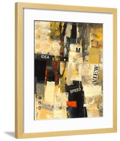 Cubic Abstract II-Georges Generali-Framed Giclee Print