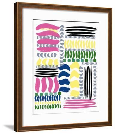 Brushstrokes-Ben James-Framed Giclee Print