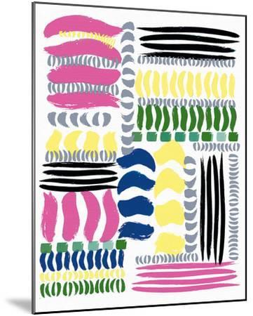 Brushstrokes-Ben James-Mounted Giclee Print
