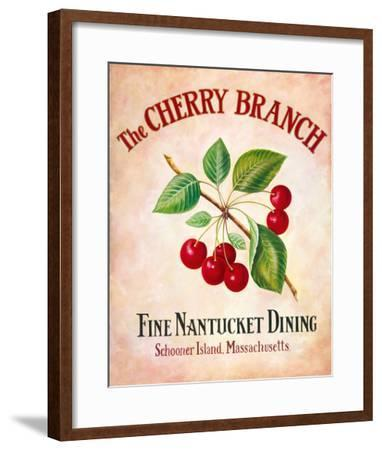 The Cherry Branch-Isiah and Benjamin Lane-Framed Giclee Print