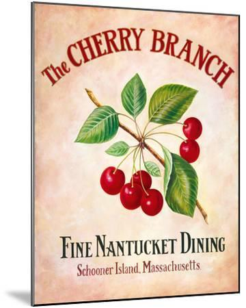 The Cherry Branch-Isiah and Benjamin Lane-Mounted Giclee Print