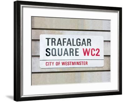 Trafalgar Square-Joseph Eta-Framed Giclee Print