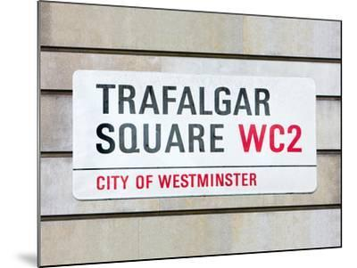 Trafalgar Square-Joseph Eta-Mounted Giclee Print