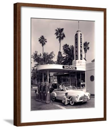 Tyre Check-The Chelsea Collection-Framed Giclee Print
