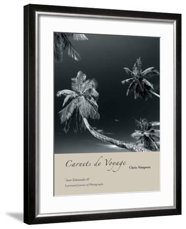Anse Takamaka II-Chris Simpson-Framed Giclee Print