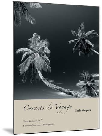 Anse Takamaka II-Chris Simpson-Mounted Giclee Print