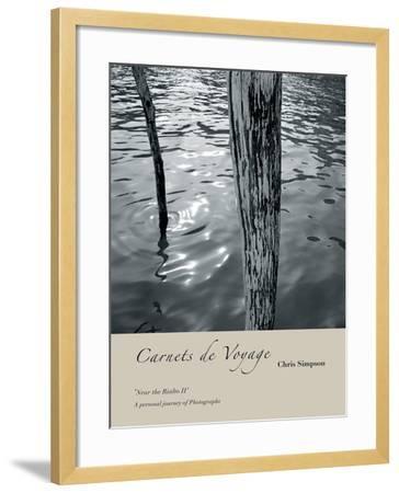 Near the Rialto II-Chris Simpson-Framed Giclee Print