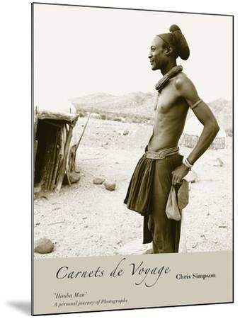 Himba Man-Chris Simpson-Mounted Giclee Print