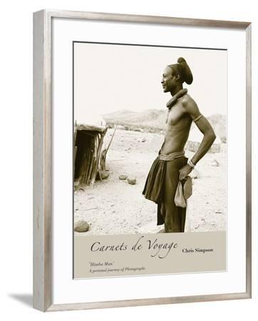 Himba Man-Chris Simpson-Framed Giclee Print