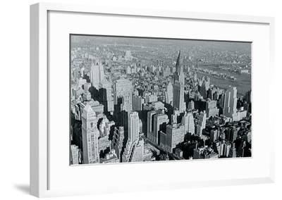 New York City In Winter III-British Pathe-Framed Giclee Print