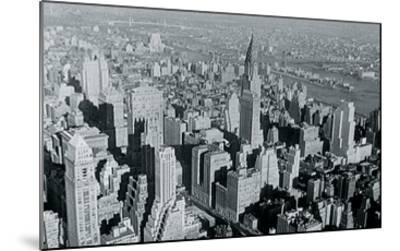 New York City In Winter III-British Pathe-Mounted Giclee Print