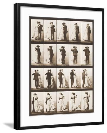 The Waltz-Eadweard Muybridge-Framed Giclee Print