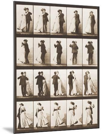 The Waltz-Eadweard Muybridge-Mounted Giclee Print