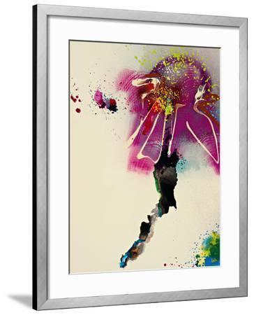Floral Mist IV-Leila-Framed Giclee Print
