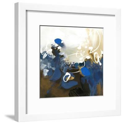 Blue Abstract-Meejlau-Framed Art Print