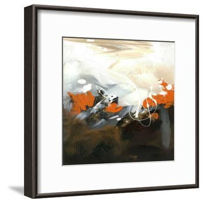 Orange Abstract-Meejlau-Framed Art Print