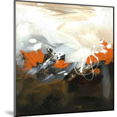 Orange Abstract-Meejlau-Mounted Art Print