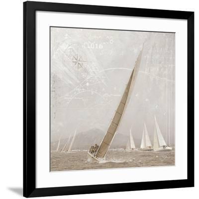 Yachting I-Enrico Sestillo-Framed Art Print