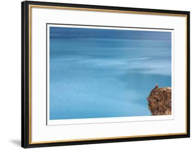 Contemplating Water-Donald Paulson-Framed Giclee Print