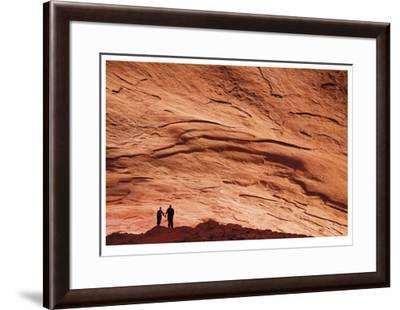 Escalante Alcove-Donald Paulson-Framed Giclee Print