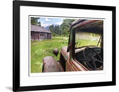 Historic Homestead-Donald Paulson-Framed Giclee Print