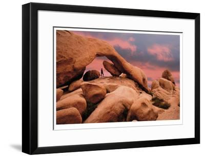 Under An Arch-Donald Paulson-Framed Giclee Print