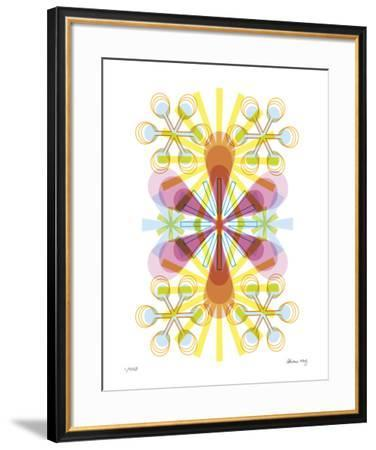 Asterisk-Adrienne Wong-Framed Giclee Print