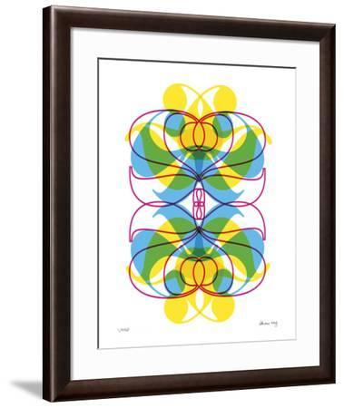 Two Pattern-Adrienne Wong-Framed Giclee Print