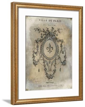 Ville De Paris-Oliver Jeffries-Framed Art Print
