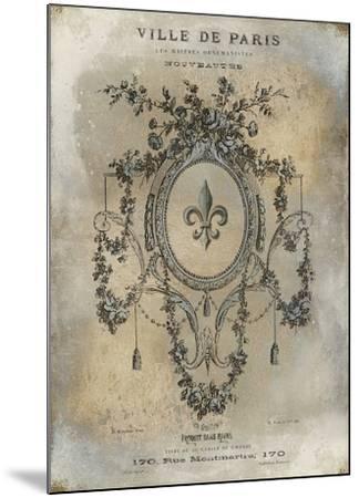 Ville De Paris-Oliver Jeffries-Mounted Art Print