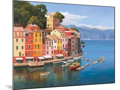 Portofino, Italian Riviera-Adriano Galasso-Mounted Art Print