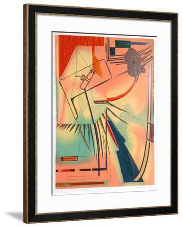 Piece By Piece-William Schwedler-Framed Serigraph