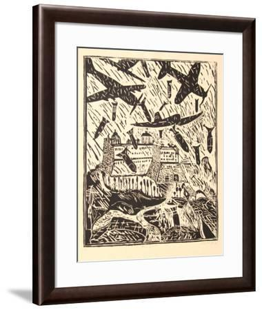 Monte Cassino (B&W)-Italo Scanga-Framed Limited Edition
