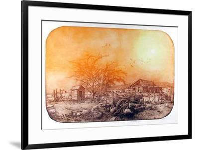 The Old Homestead-Roy Purcell-Framed Limited Edition