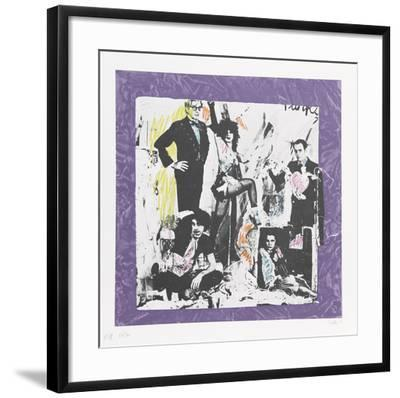 Justine and the Victorian Punks- Colette-Framed Collectable Print