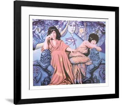 Judgement of the Moon & Stars-Robert Anderson-Framed Collectable Print