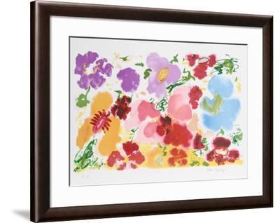 Red Petals-Helen Covensky-Framed Limited Edition