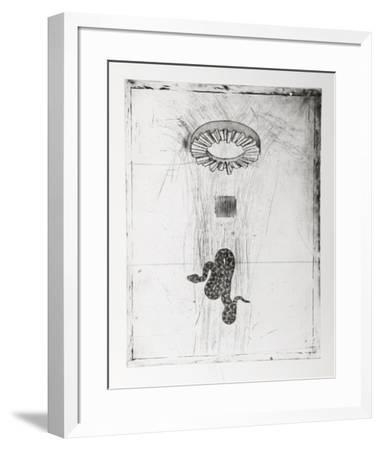 Untitled - Snake-Donald Saff-Framed Limited Edition
