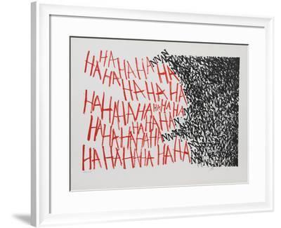 Hahaha-Marshall Borris-Framed Collectable Print