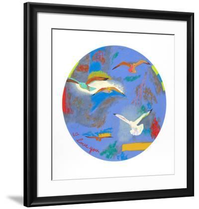 I Love You-Dody Muller-Framed Collectable Print