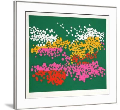 Untitled - Floral Park-Nadine Prado-Framed Serigraph
