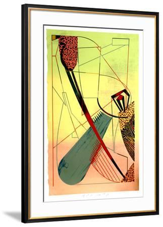 Divided Loyalties-William Schwedler-Framed Serigraph