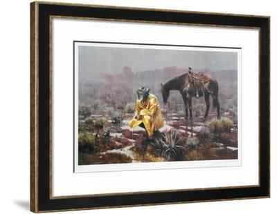 Waiting It Out-James Reynolds-Framed Collectable Print