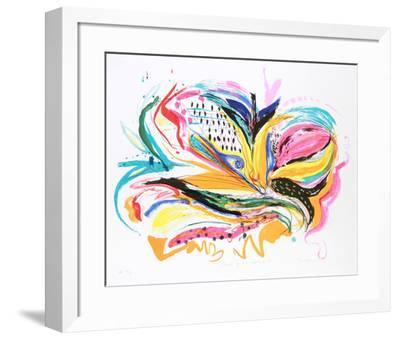 Bird of Paradise IV-Vick Vibha-Framed Collectable Print