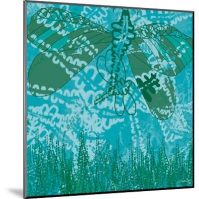 Dragonfly Field 1-Lorraine Rossi-Mounted Art Print