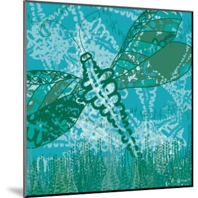 Dragonfly Field 2-Lorraine Rossi-Mounted Art Print