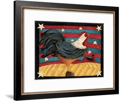 Flag-Dan Dipaolo-Framed Art Print